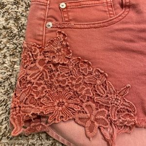 American Eagle Outfitters Shorts - American Eagle High-waisted Denim Short